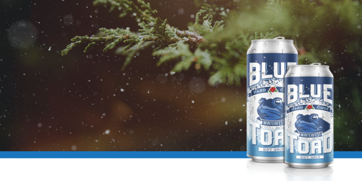Blue Toad Hard Cider, December 2019